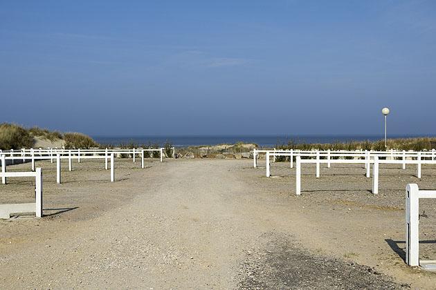 location de passage camping de la mer Ste Cécile Plage